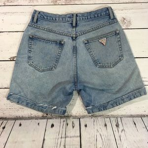 Guess vintage high waisted jean shorts